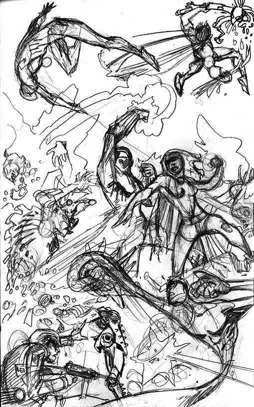 PlasticMan_Fight_Sketch_JohnMcCrea
